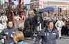 Giant dog Xolo, Sefton Street, Toxteth, Liverpool, UK (Ministry) Tags: xolo giant dog liverpool merseyside l8 uk royaldeluxe liverpoolsdream giantspectacular spectacular chaloner sefton street theatre event toxteth xoloitzcuintli puppet marionette crowd lilliputian city marionnette run scamper