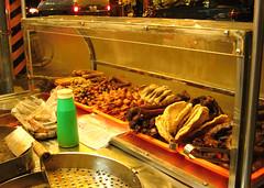 Fried duck heads/necks (rvandermaar) Tags: 東山鴨頭 taiwan duck head neck food tainan dongshan