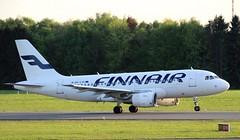 Finnair, OH-LVK, MSN 2124, Airbus A 319-112, 28.04.2019,  HAM-EDDH, Hamburg (henryk.konrad) Tags: finnair ohlvk msn2124 airbus a319112 hamburg hameddh henrykkonrad