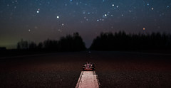 McLaren MP4-27 (free3yourmind) Tags: mclaren formula 1 one f1 forest road nature night sky stars starry belarus