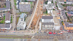 Bombenentschärfung in Köln Braunsfeld 14.12.2018