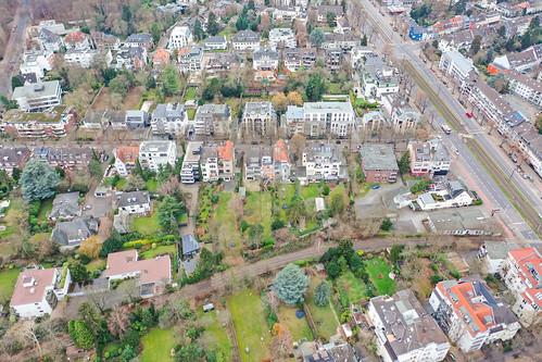 Luftbild Köln Braunsfeld