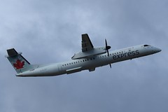 C-GJZY (LAXSPOTTER97) Tags: cgjzy bombardier dhc8 dash8 q400 cn 4529 air canada express airport airplane aviation cyvr