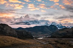 Sunset over El Chalten (RyanKirschnerImages) Tags: patagonia el chalten mountains fitz roy argentina landscape sunset sunrise