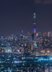 Today's special lighting (yasky0786) Tags: tokyo night skytree tower スカイツリー 東京 夜景 asiafavorites happyplanet