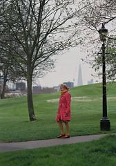 3 (James_Crouchman) Tags: london 35mm film colour primrose hill northlondon camden park woman view street photography