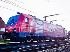 HSL Logistik 186 382 tijdens een test rit @ Kermt (Hasselt) (Avinash Chotkan) Tags: hsl br186 traxx akiem railroad logistik locomotive belgium trains 186382