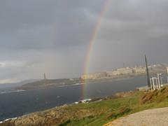IMG_9286 (jesust793) Tags: rainbow arcoiris torre hercules milenio coruña mar