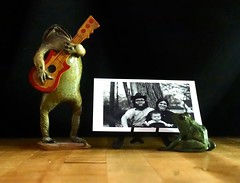 Sing Us a Song (ricko) Tags: frogs photograph vintage tabletop werehere 137365 2019