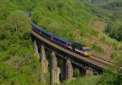 Great Western HST - end of an era (hoskinb1) Tags: hst highspeedtrain 125mph intercity swallowlivery br powercar gwr greatwesternrailway penzance paddington larginviaduct glynnvalley bodminparkway liskeard cornishmainline cornwall 43185 class43 class253