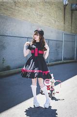 Gothic Nurse (gloomth) Tags: gloomth goth gothic lolita lolitafashion gothicnurse nurse medical cute spooky fishnets bunny weird