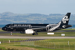 Air New Zealand Airbus A320 (Daniel Talbot) Tags: a320 akl airnewzealand airbus airbusa320 auckland aucklandairport aucklandregion blacklivery nzaa newzealand northisland speciallivery teikaamāui zkoab aircraft airplane airplanes airport autumn aviation maker oceania plane season seasons transportation