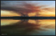 Bushfire sky in Autumn 2 (itsallgoodamanda) Tags: shoalhaven seascape sea seaside southcoast seascapephotography stgeorgesbasin sky sanctuarypoint sunset smoke bushfiresmoke sunsetphotography calmocean mountainranges reflections amandarainphotography australia australianphotography australianlandscape australiassouthcoast autumn autumn2019 beautifulbeach jervisbayphotography jervisbay itsallgoodamanda photography photoborder peaceful prettysunset prettybeach bushfire coastallandscape coastal colourfullandscape coastline coast cloudreflections skyreflections landscape landscapecoast landscapephotography lateafternoon hazardreduction burnoff