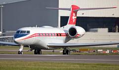 HB-JFP - Gulfstream G650 - LHR (Seán Noel O'Connell) Tags: hbjfp gulfstream g650 heathrowairport heathrow lhr egll 27r bizjet aviation avgeek aviationphotography planespotting
