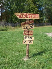 OH Williamsburg - Old West 3 (scottamus) Tags: williamsburg ohio clermontcounty fair festival event oldwestfestival sign