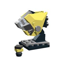 Canary (Aardvark17_) Tags: lego moc microscale mfzdf mobileframezerodogfight 4p spaceship