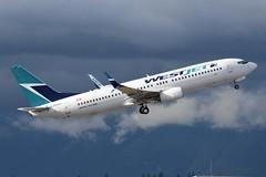 C-FRWA (LAXSPOTTER97) Tags: westjet boeing 737 737800 cfrwa cn 39085 ln 4293 aviation airport airplane cyvr