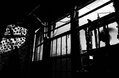 in search of homeland (Russell Siu) Tags: bw street monochrome gloomy longing memory desire sehnsucht childhood nanshi shanghai homeland