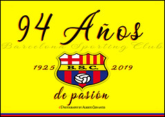 94 AÑOS DE PASIÓN. 94 YEARS OF PASSION. GUAYAQUIL-ECUADOR. (ALBERTO CERVANTES PHOTOGRAPHY) Tags: idolodelecuador ecuador republicadelecuador guayaquil gye guayaquilecuador ecuadorguayaquil gyeecuador ecuadorgye guayas barcelonasportingclub barcelona sporting club 94years 94 bsc 2019 retrato portrait photography photoborder photoart art creative pasión ídolo ídol icono iconic writing sign text luz light color colores colors brillo bright brightcolors yellowbackground macro closeup passion historia history city indoor outdoor blur