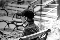 Observing the beauty of life (Capitancapitan) Tags: neury luciano urim y tumim pop rock life people balck street photography camera pentax iphone apple manhattan nyc new york city beauty merengue bachata