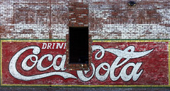 Mineral Wells Texas (Tear Drop Reflections Photography) Tags: ghostsign mineralwellstexas mineralwells texas cocacola sign flickr tajas deepintheheartoftexas