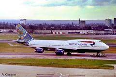 BRITISH AIRWAYS B747 G-BNLN (Adrian.Kissane) Tags: jet ramp sky outdoors 747 boeing airport heathrow london plane aeroplane aircraft 24056 b747 gbnln lhr britishaw