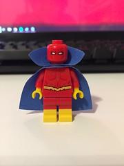 DC's Red Tornado (Numbuh1Nerd) Tags: lego purist custom dc superheroes comics minifigures to morrow torpedo inferno tornado tyrant champion john smith ulthoon volcano tomorrow woman justice league america unlimited society jla jlu jsa
