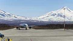 Rossiya - Boeing 777-31H(ER) EI-GES (Zhuravlev Nikita) Tags: boeing 777 boeing777 rossiya elizovo kamchatka spotting uhpp pkc