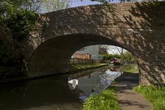 Water Eaton Bridge (Romeo Mike Charlie) Tags: grandunioncanal