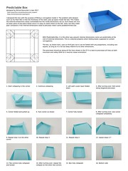 Instructions: Predictable Box (Michał Kosmulski) Tags: origami box instructions diagrams cp creasepattern tutorial foldinginstructions michałkosmulski