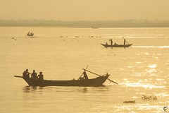 Fisher Man || জেলে (D I B B R A J) Tags: river boots boot sun sunsets chandpur magna megnariver coloues afternoon