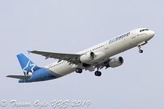 DSC_0218Pwm (T.O. Images) Tags: cgezj air transat airbus a321 toronto pearson yyz