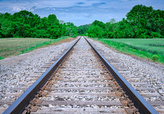 Railroad tracks near Rutland, Ohio in Southeast Ohio (diana_robinson) Tags: railroadtracks train traintracks railway rutland ohioinsoutheastohio