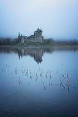 silence (akh1981) Tags: sunrise scotland scenic beautiful benro nikon nisi nature nisifilters moody morning mist fog reflections clouds countryside calm castle outdoors walking wideangle water travel tranquil landscape lake kilchurncastle hiking highlands uk