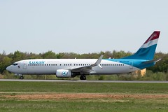Luxair - Luxembourg Airlines   Boeing 737-800 [LX-LBA] at Luxembourg Airport - 22/04/19 (David Siedler) Tags: luxair luxembourgairlines boeing boeing737 boeing737800 b737 b738 lxlba luxembourg findel airport luxembourgairport findelairport luxellx flyingoodcompany luxairshareme