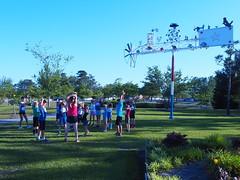 P5091419 (photos-by-sherm) Tags: 5k run runs mile cameron art museum wilmington nc north carolina spring fundraiser crowds children runners