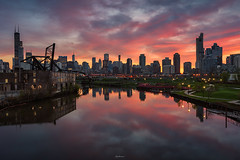 WALK IN THE PARK (Nenad Spasojevic) Tags: spasojevic sonyimages nenografiacom urban aun sonyalpha fun a9 explore colors clouds drama exploration windycity trainbridge cityscape fire reflection nenadspasojevicart weather bealpha sony sunrise skyline urbanscene reflections nenad sunlight skyfire bridge perspective chi 2019 light chicago illinois il