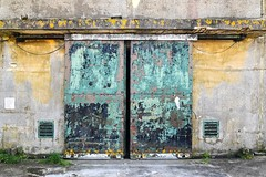 Bomb store door (robmcrorie) Tags: upper heyford air base usaf us force oxfordshire photographic tour nikon d850 cold war northern ammunition store doors
