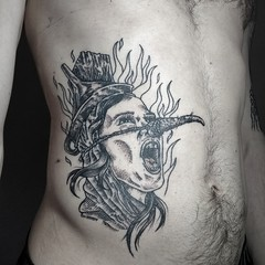 Rubén (XIV) . . . . . . . . . . #meiga #bruja #monty python and the holy grail #tattoos #piko_tattoo (Piko (Leandro)) Tags: meiga monty bruja pikotattoo tattoos