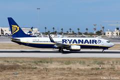 Ryanair Boeing 737-8AS  |  EI-DHZ  |  LMML (Melvin Debono) Tags: ryanair boeing 7378as | eidhz lmml cn 33583 melvin debono spotting canon eos 5d mark iv ef 24105mm f4l is ii usm plane planes photography airport airplane aircraft malta mla