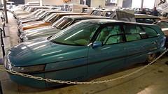 Conservatoire Citroën - Aulnay-sous-Bois (Mic V.) Tags: vintage collection classic conservatoire citroën citroen musée musee museum french car voiture aulnaysousbois 1985 eole concept mathews proto prototype