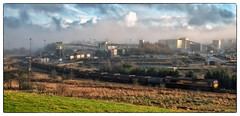 On a Cold Morning (Welsh Gold) Tags: 66103 6o08 sansea burrows onllwyn coal anthracite train mea wagons processing plant dulaisvalley southwales