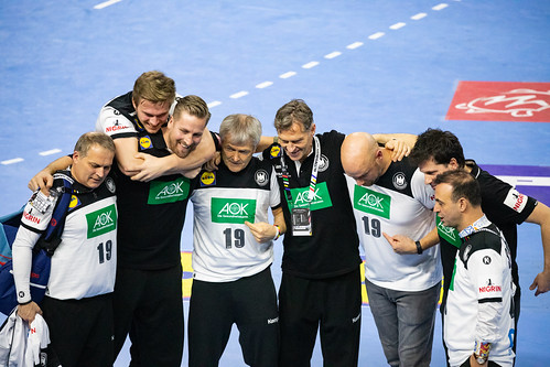 Staff, Manager and Trainer Team Germany Handball World Championship 2019 Cologne