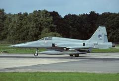 NF-5A K-3062 - RNethAF 313Sqn 870915 Twenthe (Nikon Photographer NL) Tags: rnethafnavy military dutch nederlands aviation