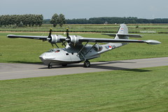 PBY-5A 16-218 (PH-PBY) - RNethNavy:Stichting Exploitatie Catalina 050828 Lelystad 1005 (Nikon Photographer NL) Tags: rnethafnavy military dutch nederlands aviation