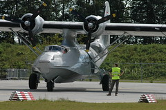 PBY-5A 16-218 (PH-PBY) - RNethNavy:Stichting Exploitatie Catalina 050828 Lelystad 1003 (Nikon Photographer NL) Tags: rnethafnavy military dutch nederlands aviation