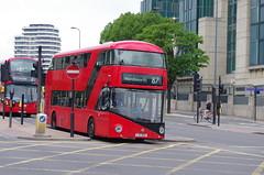 IMGP9649 (Steve Guess) Tags: vauxhall lambeth london england gb uk bus station tfl transportforlondon borismaster borisbus newroutemaster newbusforlondon nb4l nbfl wright goahead ltz1055 lt55