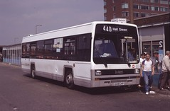 G149 CHP: VL Bus demonstrator - on loan to West Riding (L002) (chucklebuster) Tags: g149chp leyland lynx west riding vl bus demonstrator ywd yorkshire woollen district arriva midlands north