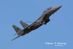 F15E-LN-97-0220-15-5-19-RAF-LAKENHEATH-(1) (Benn P George Photography) Tags: raflakenheath 15519 bennpgeorgephotography f16c fm homesteadafrb 860307 870233 870244 870287 makos 482fw 93fs sharks generaldynamics f15e ln 910315 970220 48fw 48og 492fs mcdonnelldouglas boeing suffolk blueskies fastjet fighterjet eagle strikeeagle nikon d7100 nikon200500