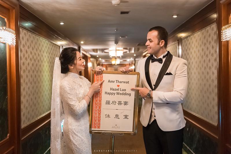 [桃園婚攝] Amr&Hazel 單晚宴 婚禮紀錄 @ 桃園尊爵大飯店| #婚攝楊康